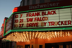 Pixies no more (Sean Davis) Tags: black movie frank marquee drive theater 21 trucker memphis 7 billboard 24 pixies budweiser falco frankblack tav newdaisy
