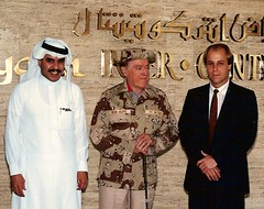 Bob Hope with Fahad and Mark (onsafari) Tags: riyadh bobhope markmccarthy riyadhintercontinental