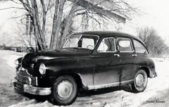1950's car. Aaron auto - Standard Vanguard (Anna Amnell) Tags: 1950scar apenauto myfatherinlawscar 1950luvunauto aaropekkarinen pekkariset