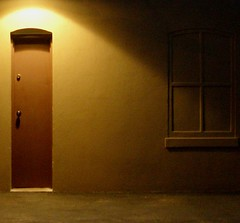 the thin brown door (the life of liza) Tags: night utata richmondva thefan utatapaints atnightweare