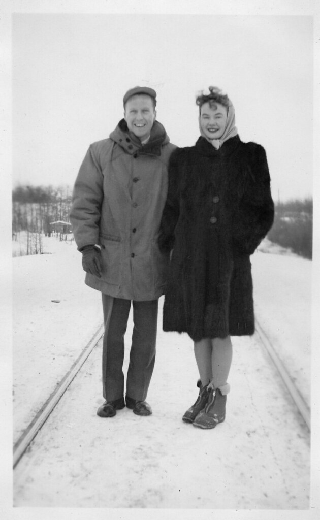 Winter Fashion (ca. 1946, northern Alberta)