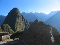 Machu Picchu scale model