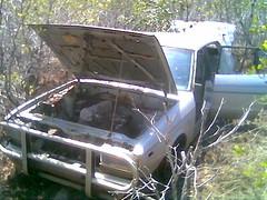 Abandoned Car at Millner Swamp