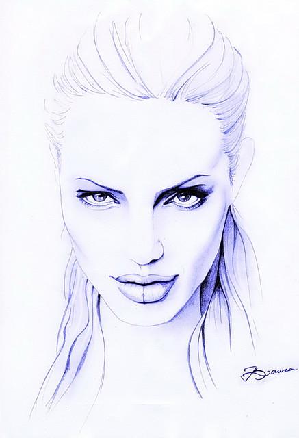 Angelina Jolie by ladyLara ( Laura Balc )