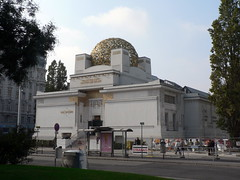 The Secession Building (lostajy) Tags: vienna building secession