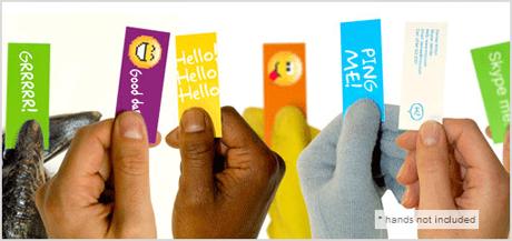 Skype moo cards