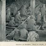 Interior of breaker, boys at work thumbnail
