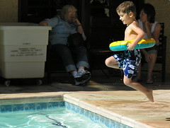 1-2-3 JUMP! (~Dezz~) Tags: travel boy vacation playing pool swimming jumping child action nephew
