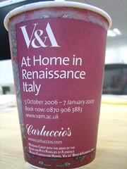 V&A coffee