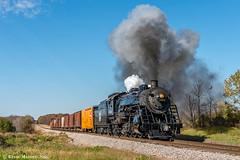 Noble Road (kdmadore) Tags: steamlocomotive steam soo1003 soo train railroad wisconsinsouthern wsor mikado sooline steamengine