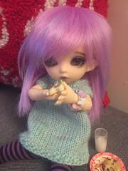ADAD # 8 - Cookies (Lubelle90) Tags: cookie miniature luna pkf pukifee fairyland doll bjd
