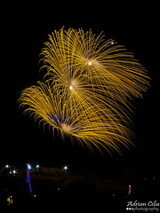 Malta --- Lija --- Fireworks (Drinu C) Tags: adrianciliaphotography sony dsc hx100v malta fireworks lija longexposure shells festa feast colours fire