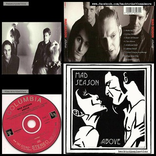 #HappyAnniversary 23 years #MadSeason #Above #album #grunge #alternative #rock #music #90s #90smusic #90sgrunge #90salternative #90saltrock #backtothe90s #BarrettMartin #JohnBaker #LayneStaley #MikeMcCready #BrettEliason #90sband #90salbum #90sCD #backtot