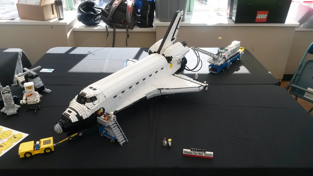 lego space shuttle orbiter - photo #3