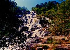น้ำตกแม่ยะ Mae Ya waterfall, Thailand. (Thanathip Moolvong) Tags: waterfall jungle forest wood tree nationalpark rock
