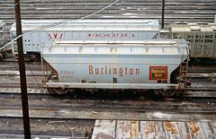 CB&Q Class LO-7 184367 (Chuck Zeiler) Tags: cbq class lo7 184367 burlington railroad covered hopper freight car cicero train chuckzeiler chz