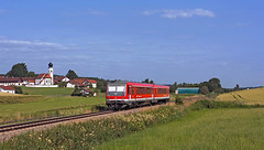 RB27082 (maurizio messa) Tags: rb27082 br628 bahn bayern mau ferrovia automotrice treni trains triebzug triebwagen triebzuge railway railroad railcar germania germany nikond7100