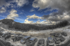 #207 (mariopolicorsi) Tags: mariopolicorsi canon eos 700d fisheye samyang 8mm hdr hdrawards simplysuperb photoshop photomatix abetone neve snow car inverno winter marzo march toscana tuscany italia italy europa europe travel viaggio 2018 nuvole clouds landscapes