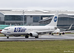 UTair 737-800 VQ-BJI (birrlad) Tags: dub airport dublin boeing b737 b738 utair vqbji un troop charter moscow vnukovo international telaviv rain weather cloud russia 737 737800 7378as