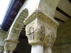 Capitel claustro Iglesia San Pedro de la Rua Estella Navarra 04 (Rafael Gomez - http://micamara.es) Tags: capitel claustro iglesia san pedro de la rua estella navarra