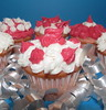 It's My Party (Lisa Zins) Tags: lisazins food cupcakes sweet icing frosting raspberry mojito raspberrymojito bettycrocker minicupcakes mini muffins baking 2018 party birthday celebration streamers eating macro macromondays monday april16 closeup dessert cake happybirthday pink canon powershot sx150 condiment song title