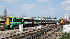 377622 (JOHN BRACE) Tags: 2012 bombardier derby built class 377 electrostar 377622 southern livery east croydon station