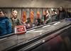 London tube (Henka69) Tags: bokeh dof london streetphotography streetcolour escalator