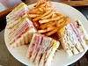 Club Sandwiches (阿Dex) Tags: sandwich clubsandwich chips bacon ham food yummy egg maldives