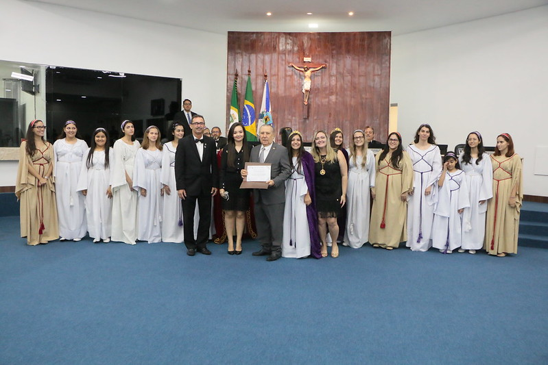 Sessão Solene em homenagem ao Dia Municipal das Filhas de Jó