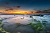 Palmachim Beach at Sunset II (stollman_ron) Tags: beach longexposure nikon d600 seascape sunset weather clouds travel landscape rocks