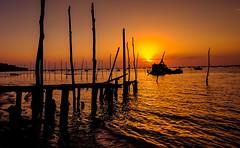 cap ferret (joboss83) Tags: sea sun mer ciel port landscape couleurs beach plage