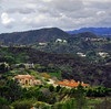 Overlooking Coldwater Canyon, L.A., California (Amy V. Miller) Tags: coldwater canyon la california landscape green hills hollywood