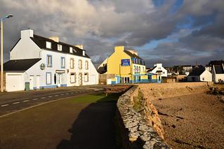 Portsall / Bretagne / Finistère / Rue du Port