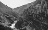 Black and white valley (maytag97) Tags: maytag97 valley canyon blackandwhite bw nature natural river shadow rugged
