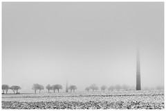 spring start #03 (Stefan A. Schmidt) Tags: cold snow fog pentax art wind mill