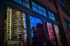 Window Reflection, 2nd Avenue, Seattle, Washington (BDM17) Tags: window reflection glass building pane glare second 2nd avenue seattle washington wa king