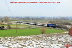 Hz_03_2018_037 (HK 075) Tags: hz hrvatska hk 075 croatia class railway 2062 2044 2063 2041 2132 1141 1142 željeznica yugoslavia balkans rail fanning