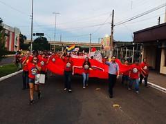MNLM/RS - Companheir@s do Movimento Nacional pela Moradia (MNLM) em defesa do presidente Lula. (MNLM BRASIL) Tags: mnlm rs moradia habitacao fotos