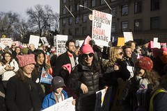 DSC07448_ep (Eric.Parker) Tags: jan202018 womens march inauguration anniversary nyc newyork manhattan sixth avenue pink pussy hat protest activism trump antitrump provote