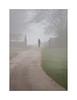 Walk away (danjh75) Tags: nature people woman walk cloud morning paths