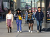 Boardwalk Smiles (Multielvi) Tags: atlantic city new jersy nj shore boardwalk man woman girl candid