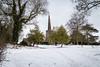 Snow In Morley, Derbyshire (Geraldine Curtis) Tags: snow morley derbyshire field beastfromtheeast church