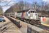 NJT train# 1003 @ Mountain Lakes (bozartproductions) Tags: mountain lakes new jersey engine transit railroad cars station