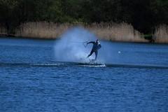 MYates Photography (msjy81) Tags: myates photography nikon d5300 200500mm the quays wake boarding water splash skill blue sky boat
