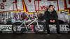 One Man And His Bike (Sean Batten) Tags: southbank london england unitedkingdom gb nikon d800 85mm bike bmx bicycle city urban person candid streetphotography street graffiti