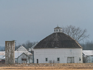 IMGPJ31893_Fk - Jackson County Indiana - Round Barn