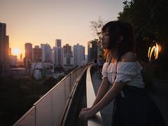 Sunset (NATSU PLUS) Tags: portrait bangkok panasonic lumix leica 15mm gx8