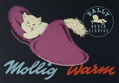 BALLY Warm Slippers  1945 (OldAdMan) Tags: bally warm slippers 1945 oldadman old vintage advertisements adverts posters