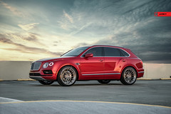 ANRKY Bentley Bentayga - AN39 (anrkywheels) Tags: anrkywheels anrky an39 bentley bentyaga pirelli ham heatautomotoring sunset photoshoot photo baller luxury fancy exotic threepiece hre adv1 forgiato vossen