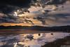 Despertares (IrreBerenTe Natalia Aguado) Tags: sanvicentedelabarquera boat fishingboat fish sea seascape landscape sunrise clouds reflections reflects cloudscape bridge puentedelamaza nataliaaguadoirreberente cantabria awakenings despertares